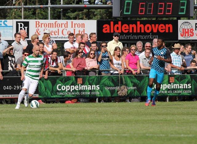 Tommy Jacobs tegen PSV