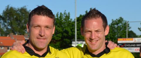 Ronnie Dirks en Bart van Limpt