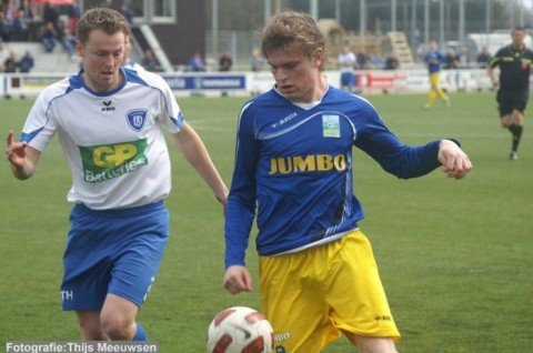 Alexander Mols Blauw Geel tegen Deurne